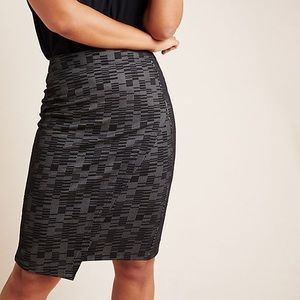 Anthropologie Knit Pencil Skirt x-small